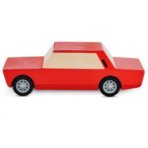 Duży Fiat czerwony