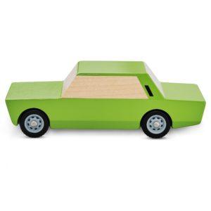 Kanciak Drewniany Fiat 125p zielony