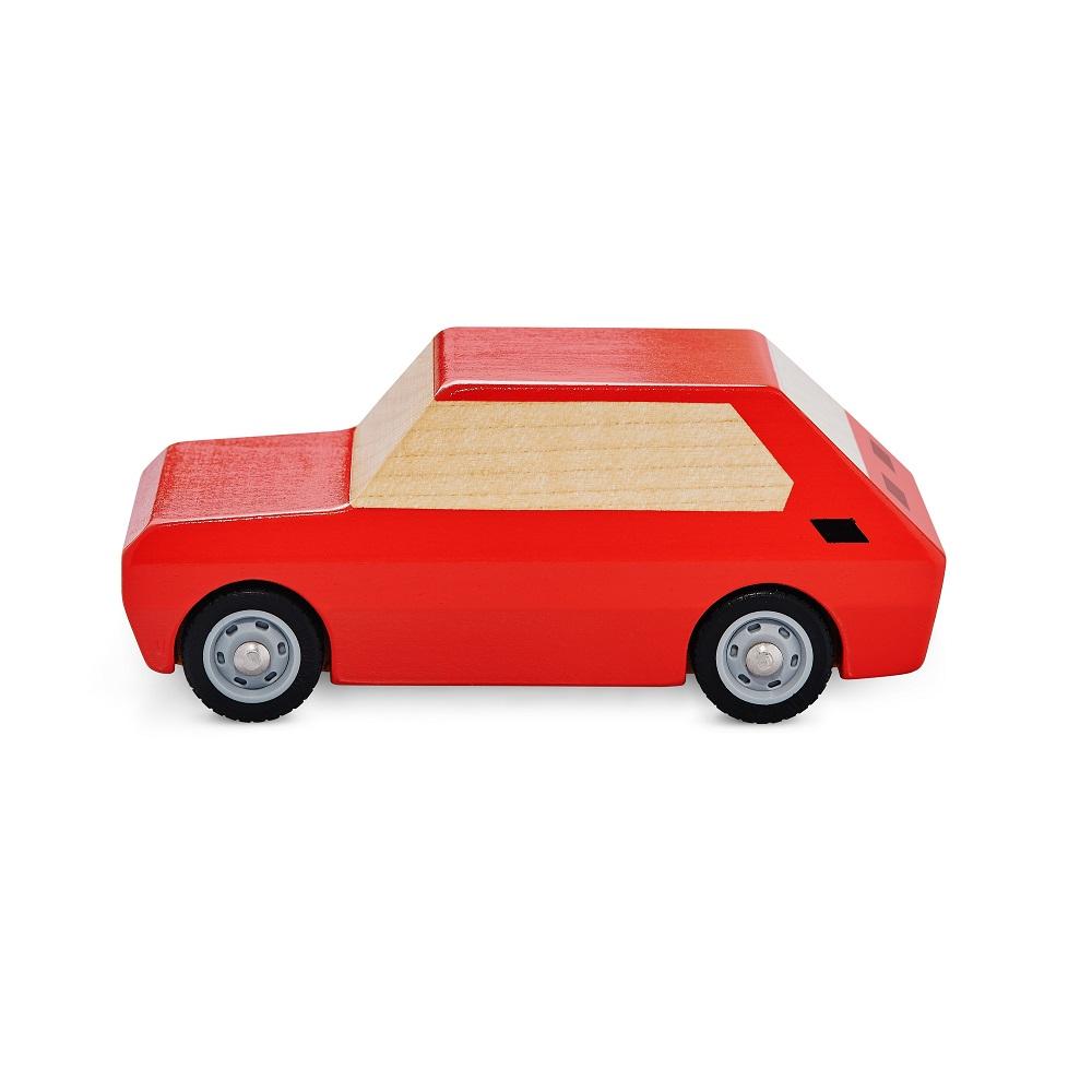 Malacz - zabawkowe autko drewniane