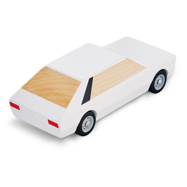 Polonez model drewniany bialy