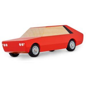 Polonez - samochodzik drewniany dla dziecka - Poldek
