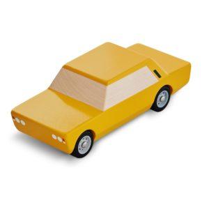 Polski Fiat 125p zabawka drewniana