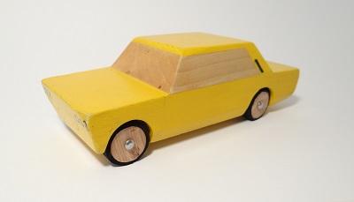 drewniany prototyp Kanciaka Polski Fiat 125